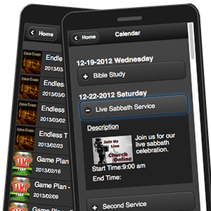 mobile app media